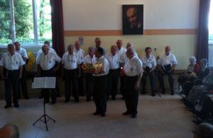 Concerto alla casa di riposo Villa San Giusto di Gorizia