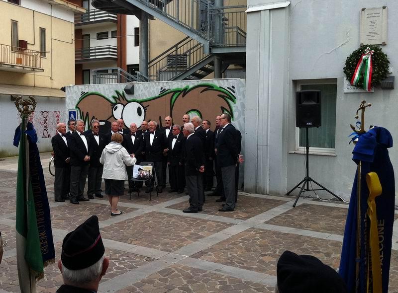 Partecipazione alla commemorazione in Piazza Falcone e Borsellino