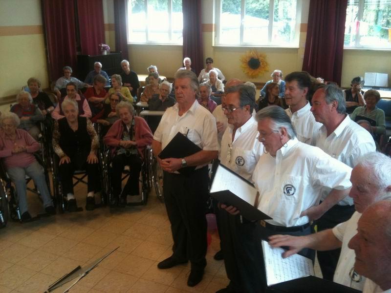 Concerto alla casa di riposo Villa S.Giusto di Gorizia